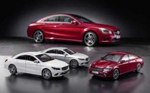 Mercedes Benz model CLA