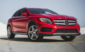 Mercedes Benz model GLA