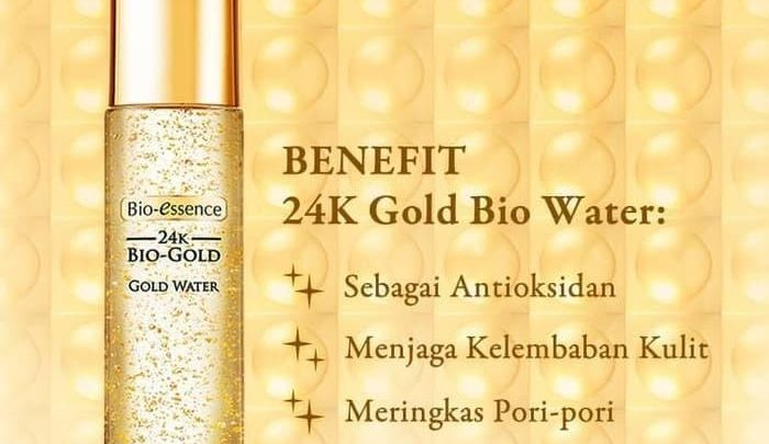 bio essence gold water essence
